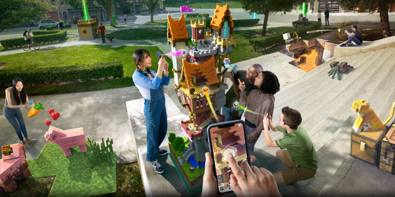 Minecraft Earth, realidad aumentada en el móvil al estilo Pokémon Go