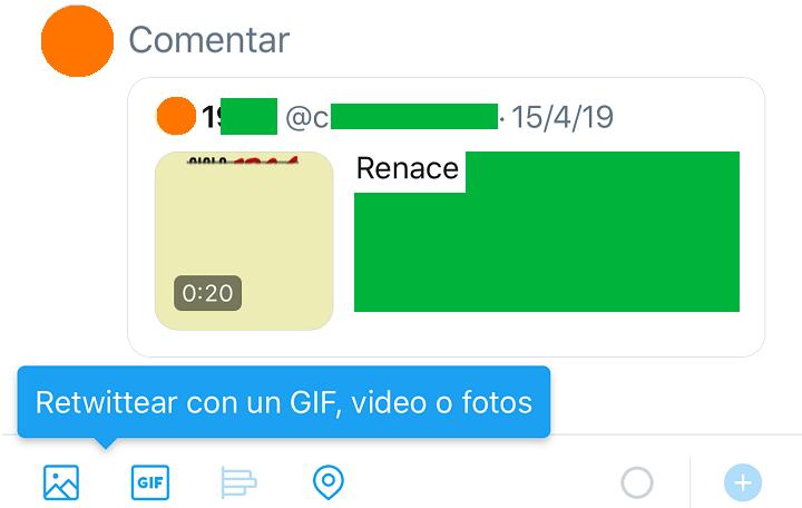 Imagen - Twitter ya permite hacer retweets con GIFs, fotos y vídeos
