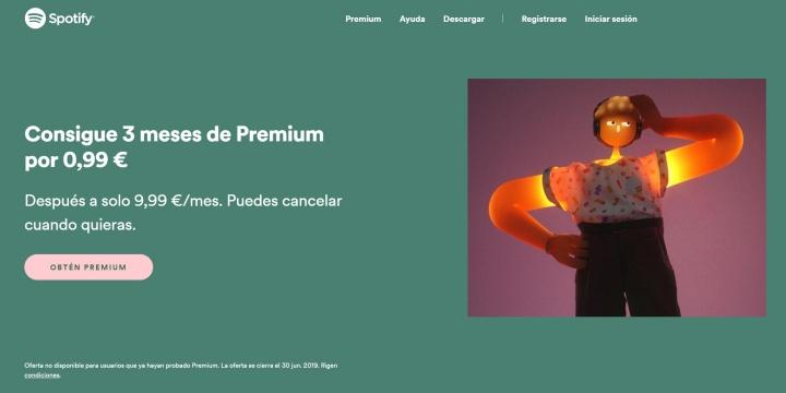 Imagen - Oferta: Spotify Premium vuelve a estar a 0,99 euros por 3 meses