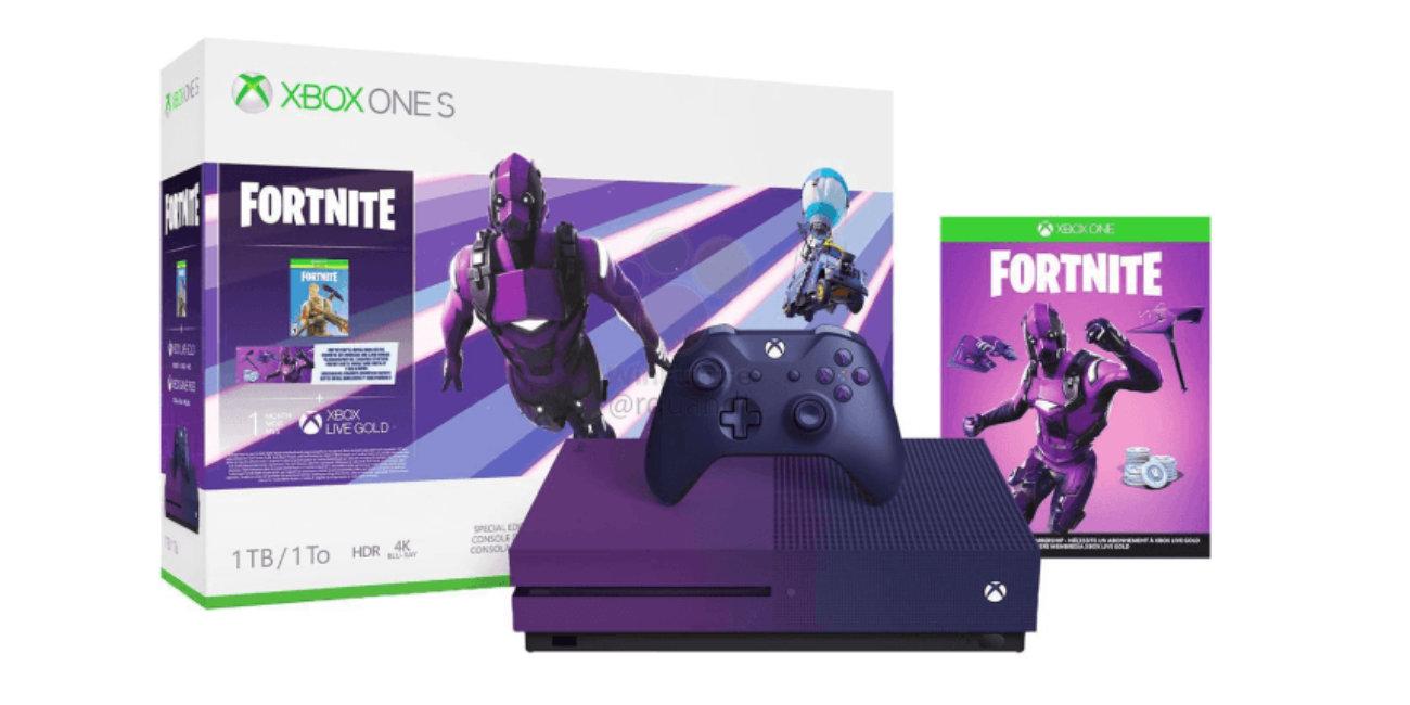 Xbox One S tendrá una edición Fortnite