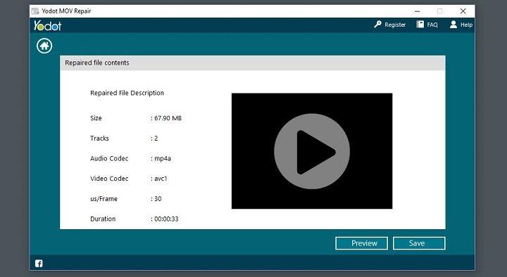 Imagen - Review: Yodot MOV Repair, repara archivos MOV y MP4 dañados rápidamente
