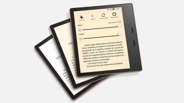 Imagen - Amazon Kindle Oasis se renueva: mejor pantalla y batería en el e-reader resistente al agua