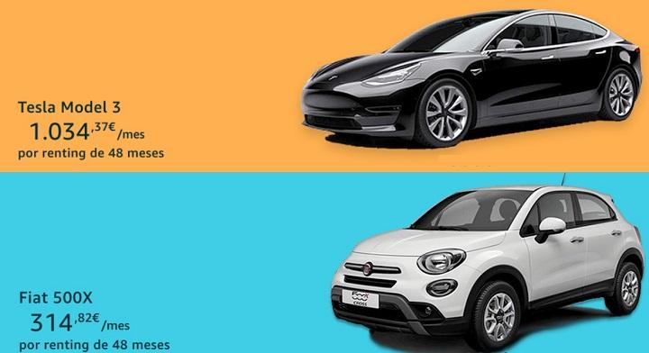 Imagen - Amazon Motors: renting de coches con pago mensual durante 3 o 4 años