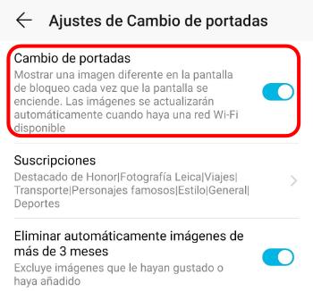 Imagen - Los móviles de Huawei ahora muestran publicidad de Booking en la pantalla de desbloqueo
