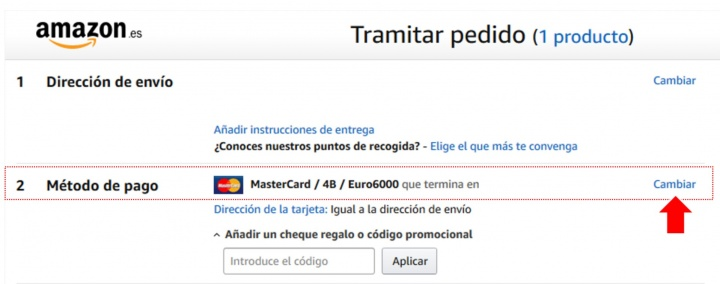 Imagen - Amazon lanza Financiación con pago en 4 plazos