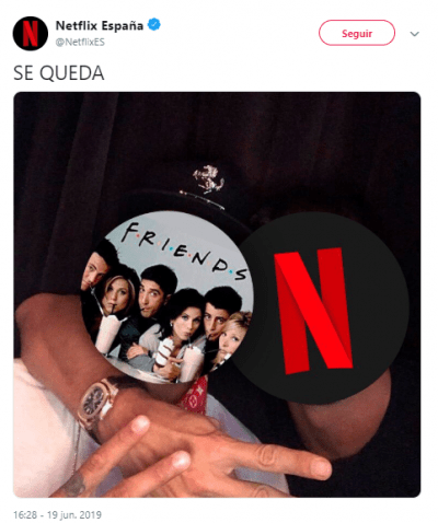 Imagen - Netflix España mantendrá Friends en su catálogo finalmente