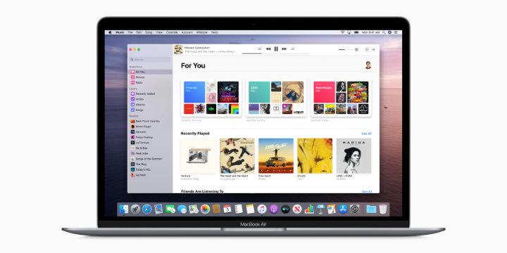 Imagen - macOS Catalina: apps basadas en iOS, abandono de iTunes y iPad como pantalla externa