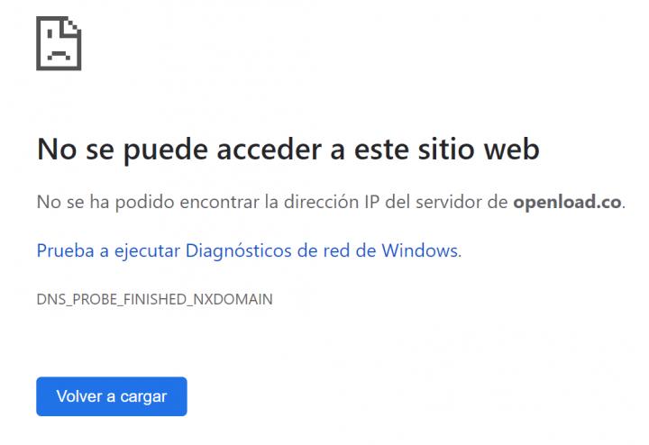 Imagen - Openload está caído: el servicio de alojamiento web podría cerrar