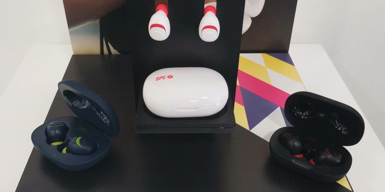 SPC Ebon Go y Hype, color y diseño en los nuevos auriculares