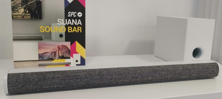 Imagen - SPC Suana, la barra de sonido de 100 vatios con subwoofer inalámbrico