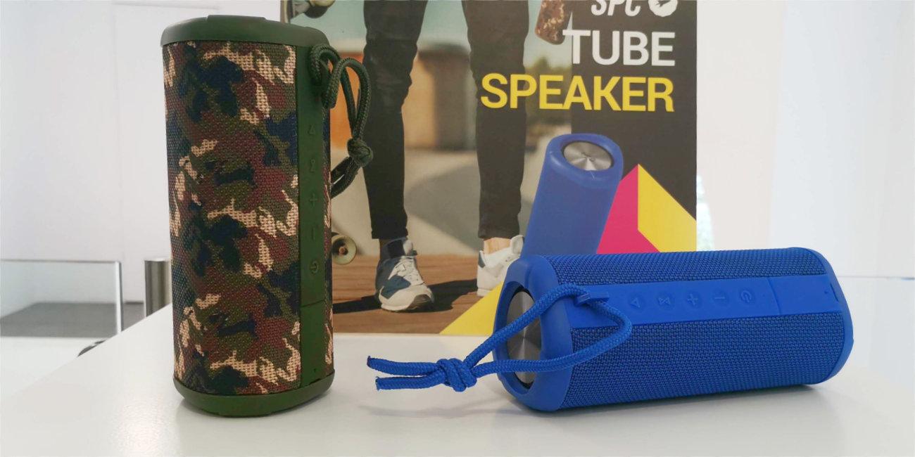 SPC lanza Sounds Pups, Up! Speaker y Tube: altavoces ligeros y con diseños originales