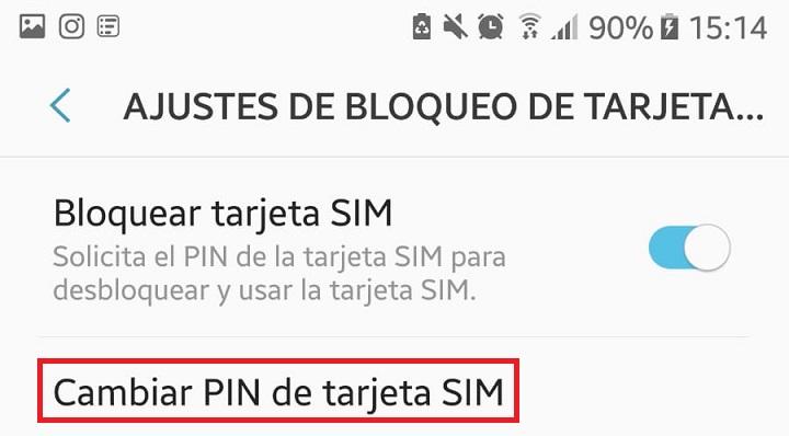 Imagen - Cómo cambiar PIN de la SIM