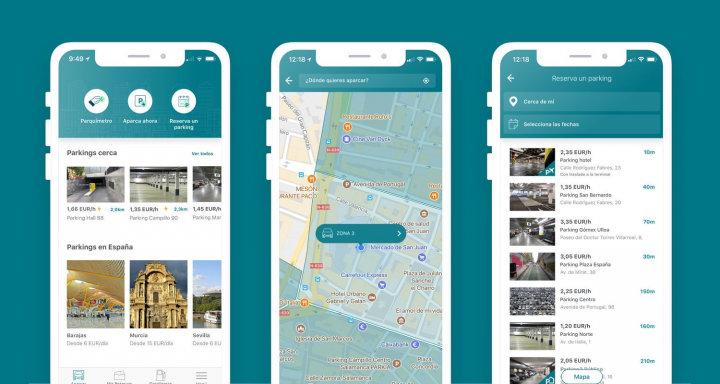 Imagen - ElParking, la app para acceder a parkings públicos, particulares y de aeropuertos