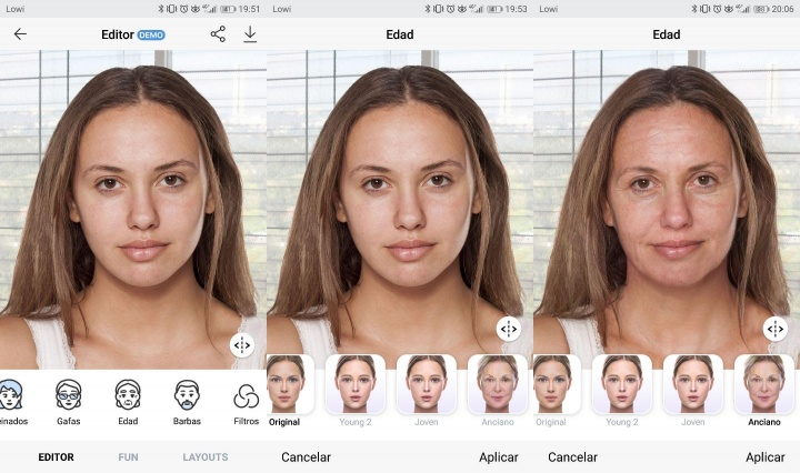 Imagen- Cómo hacer el Face App Challenge y verte viejo en una