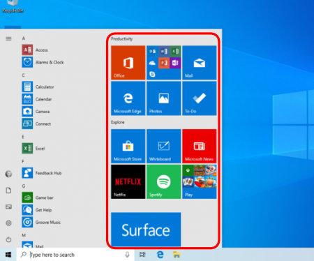Imagen - Así será el nuevo menú Inicio de Windows 10
