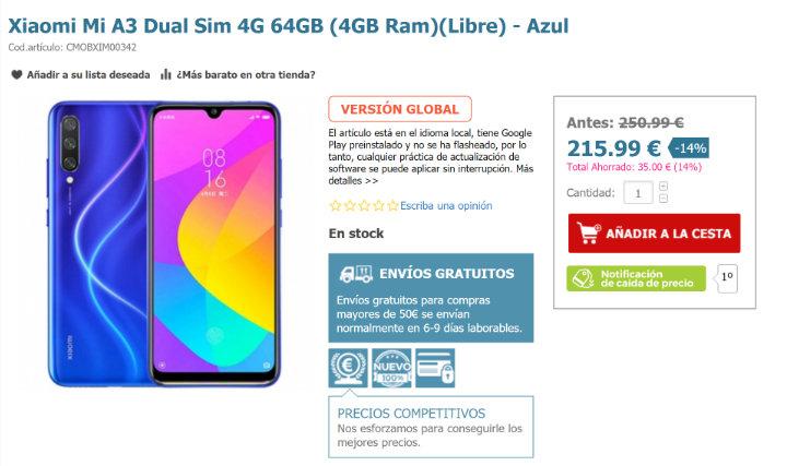 Imagen - Dónde comprar el Xiaomi Mi A3