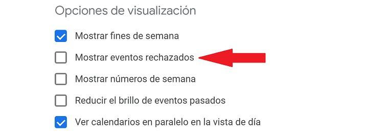 Imagen - Cómo eliminar el spam de Google Calendar