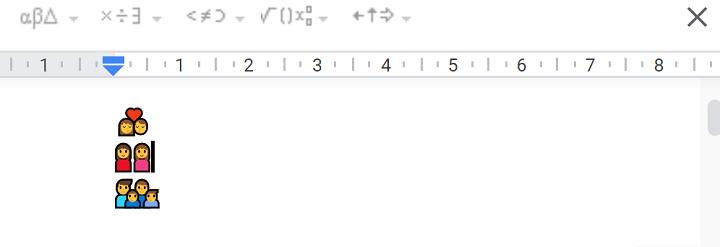 Imagen - Google prueba emojis grupales que permiten borrar personas
