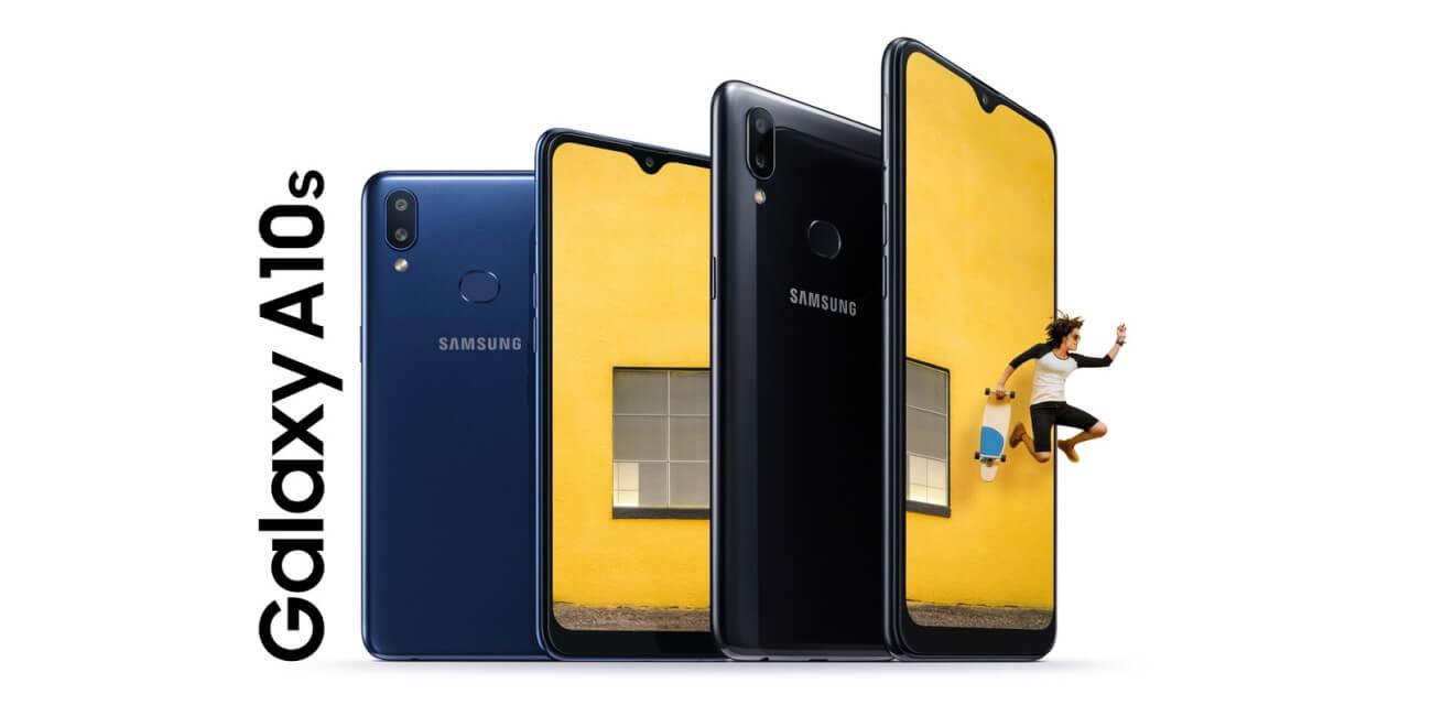 Samsung Galaxy A10s, doble cámara trasera y batería de 4.000 mAh para la gama de entrada