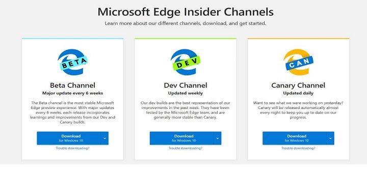 Imagen - Descarga Microsoft Edge Beta y adelántate a las novedades