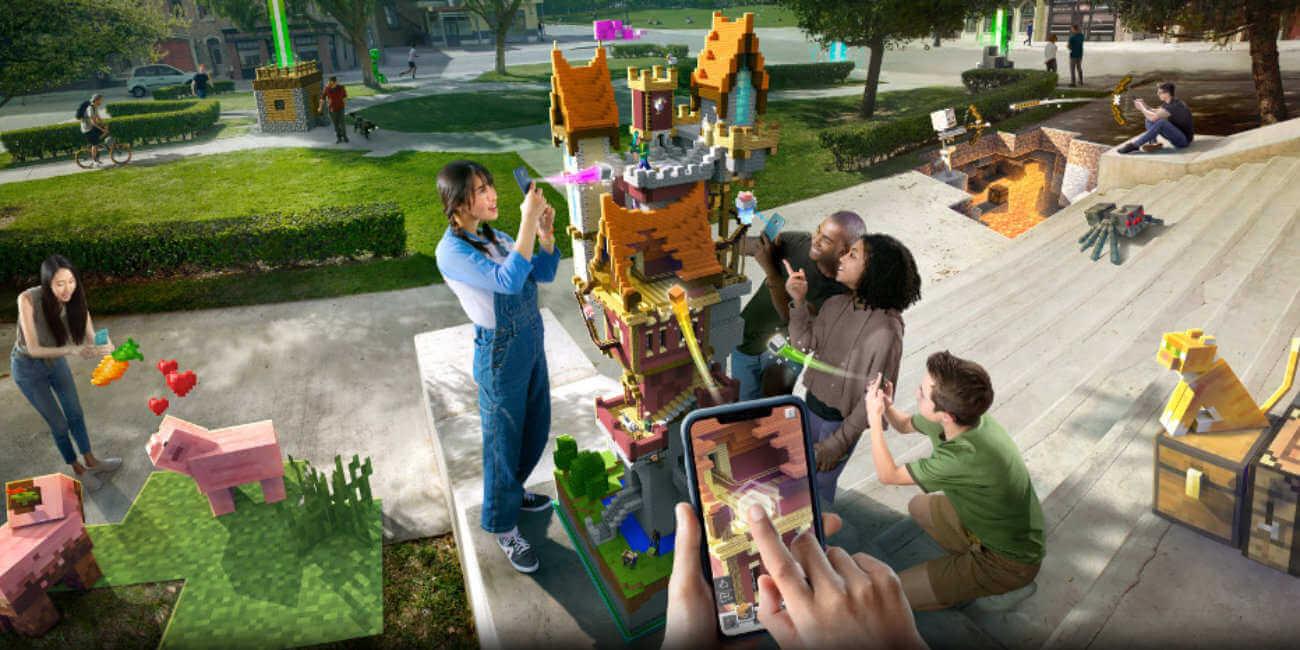 Regístrate ya en la beta de Minecraft Earth para Android