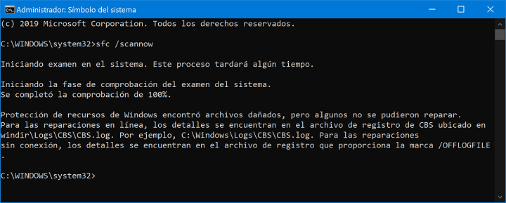 Imagen - Cómo arreglar el error 0x80073701 en Windows 10 con la actualización KB4497935