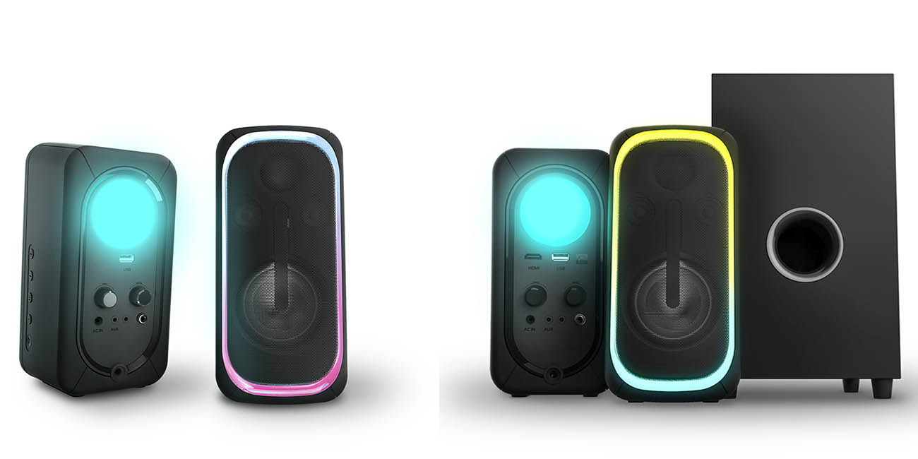Energy Sistem Speaker ESG 5 Thunder y ESG 3 Inmersive, los altavoces gaming con luces RGB