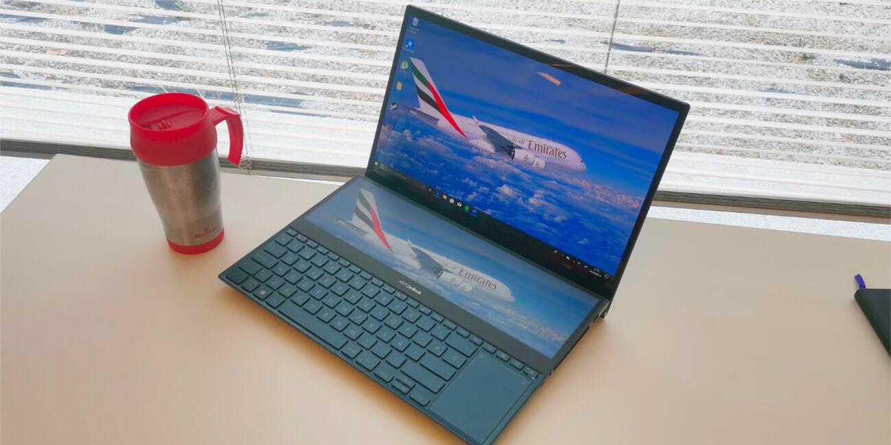 Review: Asus ZenBook Pro Duo, el portátil premium con doble pantalla táctil