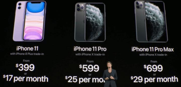 Imagen - iPhone 11 Pro y iPhone Pro Max, características, precios y disponibilidad