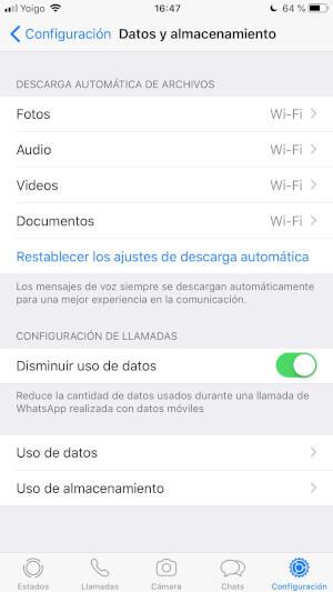 """Imagen - WhatsApp no elimina los archivos enviados a iPhone si pulsamos en """"Eliminar para todos"""""""