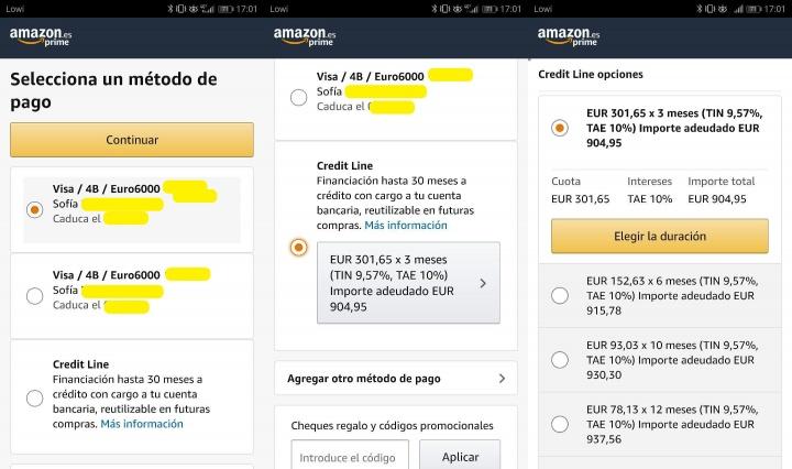Imagen - Amazon recupera la financiación con Paga en 4