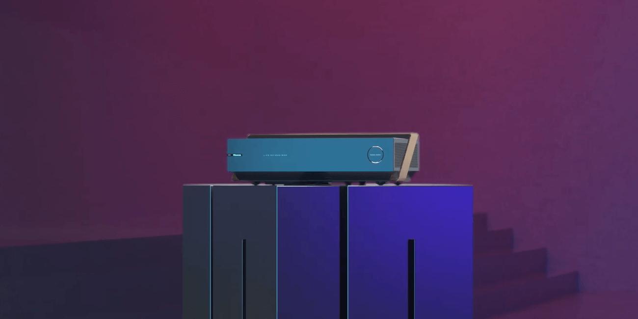 Hisense presenta su televisión láser con pantalla sónica