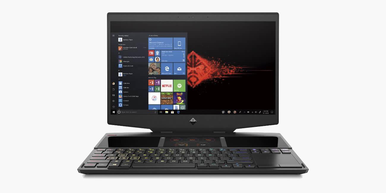 HP OMEN X 2S, el portátil gaming con doble pantalla y refrigeración de metal líquido