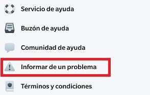 """Imagen - ¿Es verdad que al sacudir el móvil en Facebook sale la opción """"Informar de un problema""""?"""