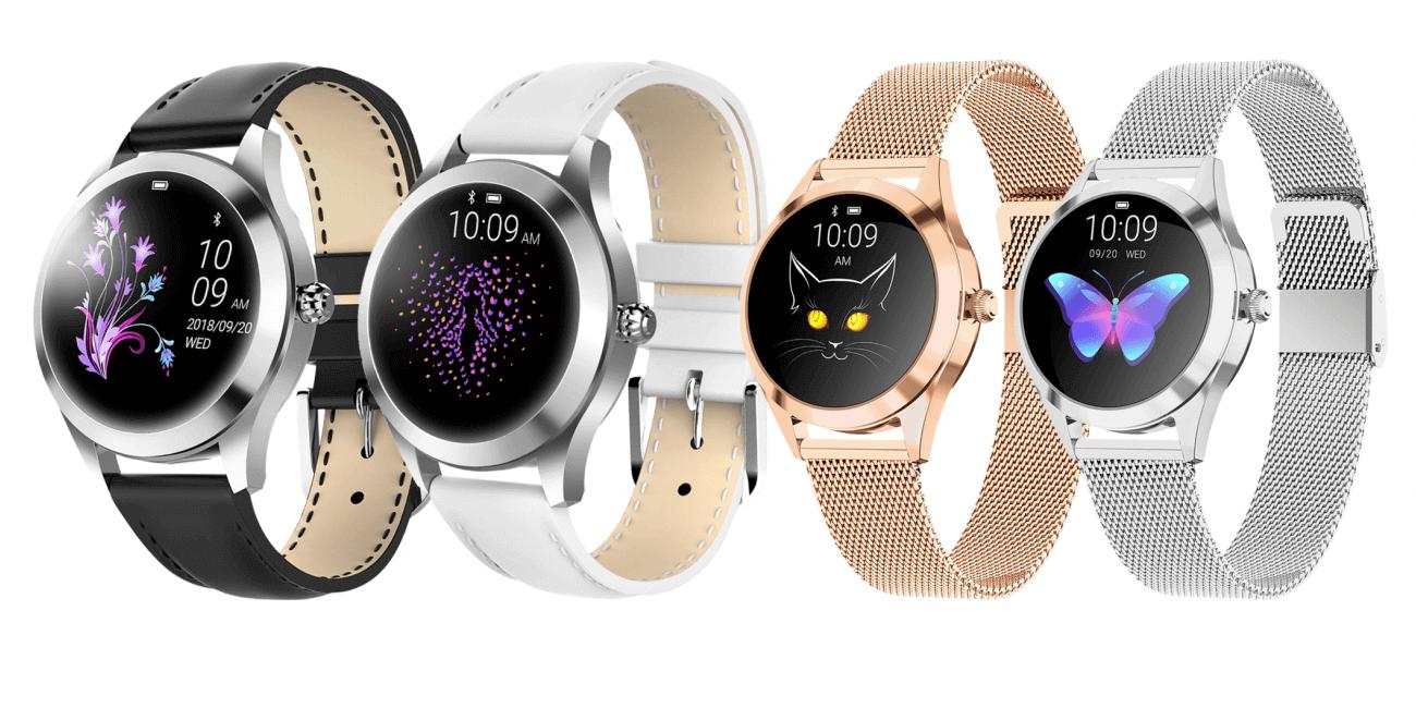 InnJoo Watch Voom for SmartGirls, un smartwatch femenino con un diseño elegante