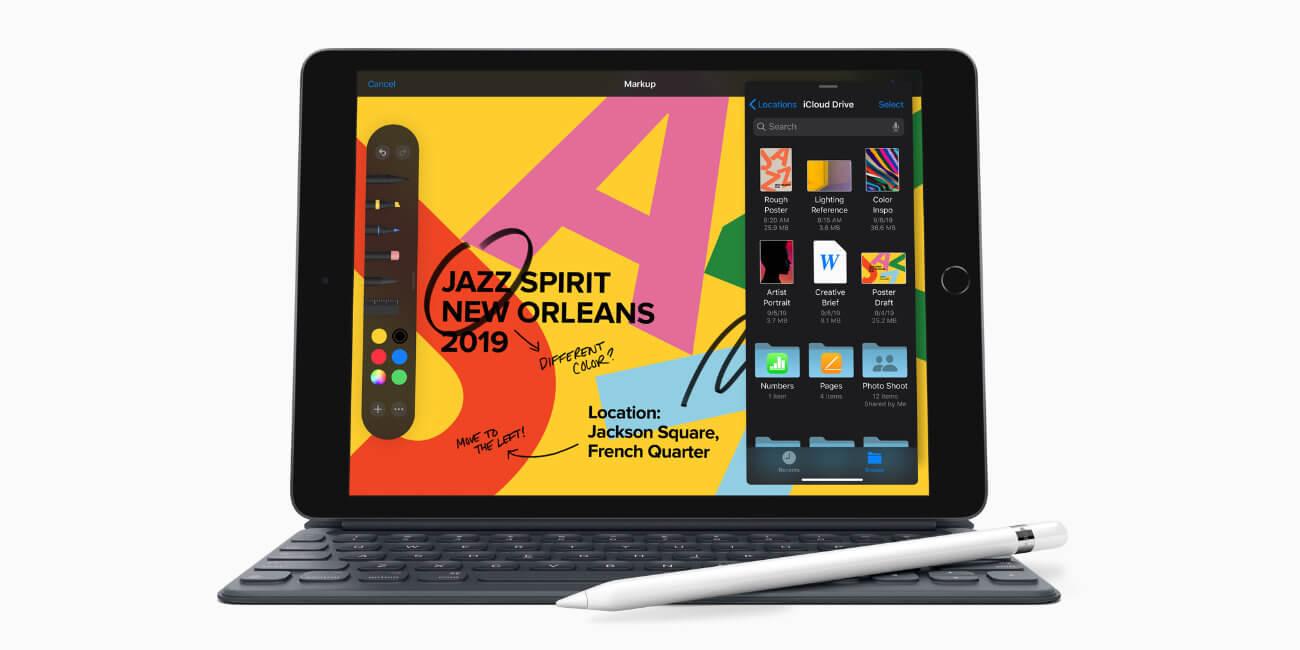 iPad de 7ª generación es oficial: 10,2 pulgadas, chip A10 Fusion y Smart Connector