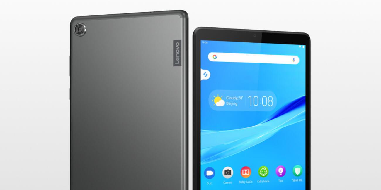 Lenovo Tab M7 y M8 se renuevan: tablets con reconocimiento facial, modo niños y Android 9