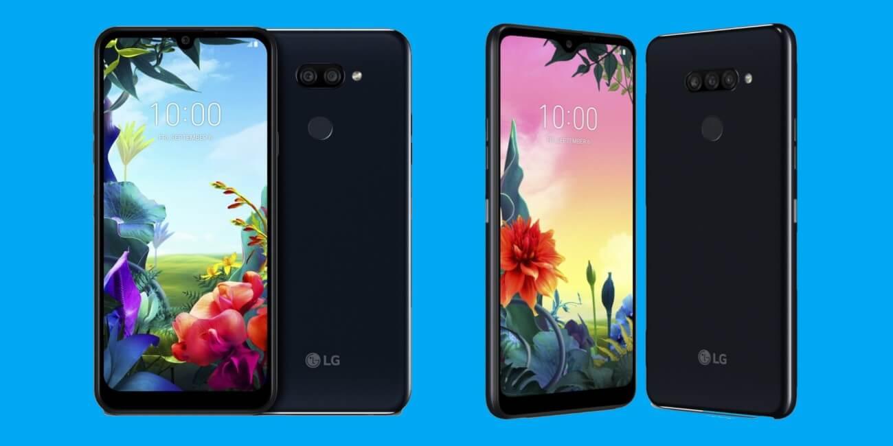 LG K40S y K50S: gama de entrada con doble y triple cámara