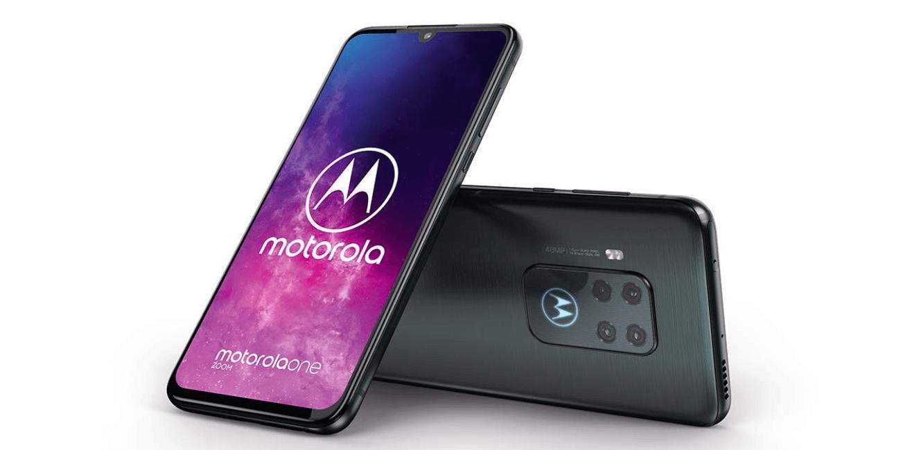 Motorola One Zoom, cuádruple cámara trasera y lector de huellas en pantalla por 429 euros