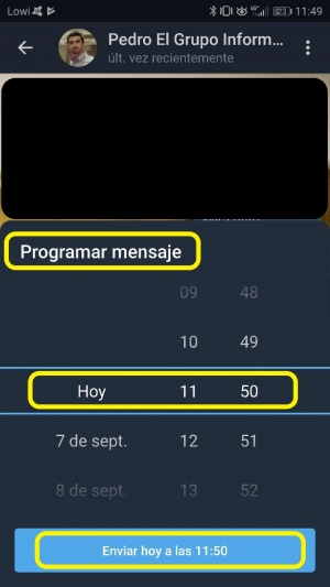 Imagen - Cómo programar mensajes en Telegram