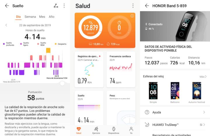 Imagen - Review: Honor Band 5, la pulsera fitness con pantalla en color y pulsómetro avanzado