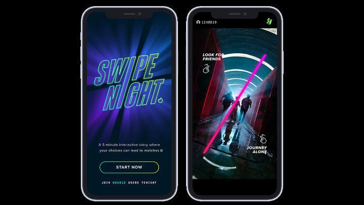 Imagen - Swipe Night, la aventura interactiva por episodios de Tinder