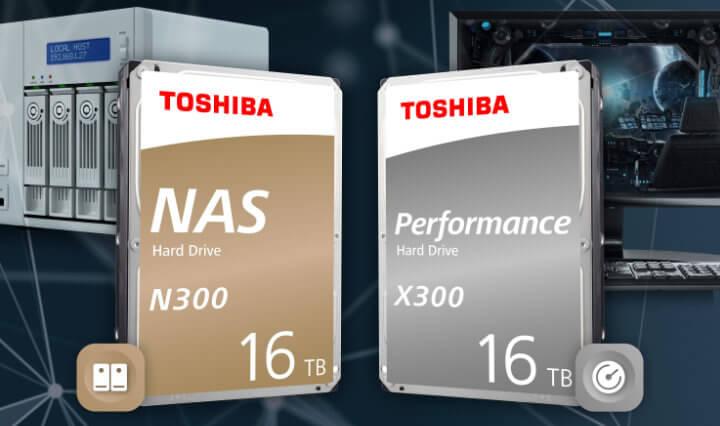 Imagen - Toshiba N300 y X300, los discos duros de hasta 16 TB sellados con helio
