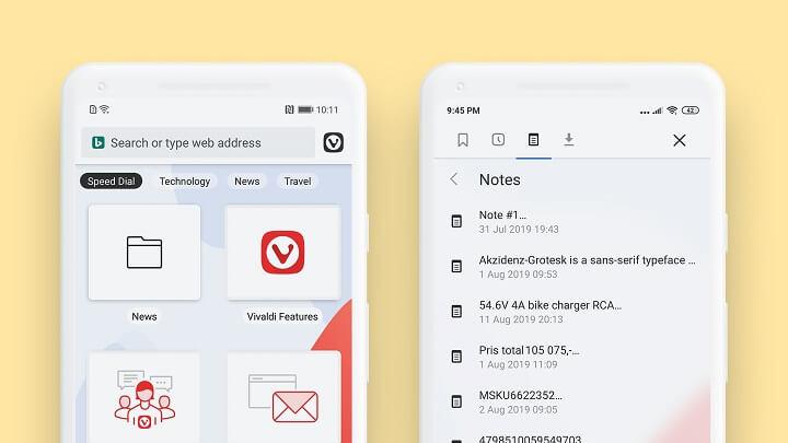 Imagen - El navegador Vivaldi llega a Android, conoce todos los detalles