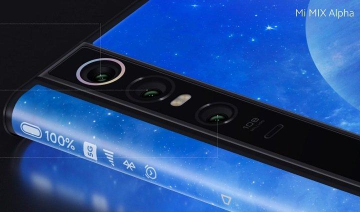 Imagen - Xiaomi Mi MIX Alpha, el smartphone todo pantalla con cámara de 108 megapíxeles