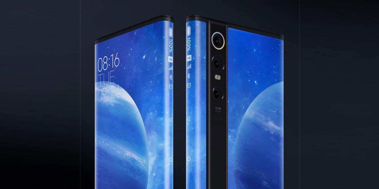 Xiaomi Mi MIX Alpha, el smartphone todo pantalla con cámara de 108 megapíxeles