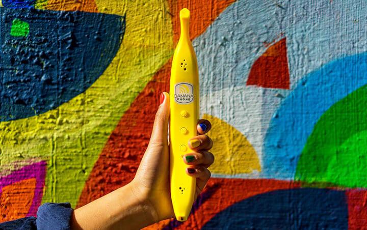 Imagen - Banana Phone, el auricular que parece un móvil con aspecto de plátano