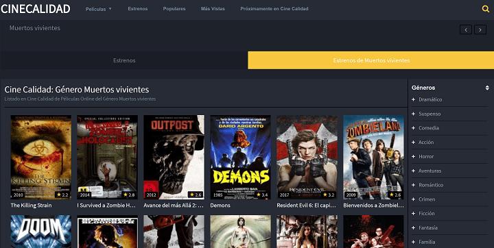 Imagen - 10 webs donde encontrar películas para Halloween