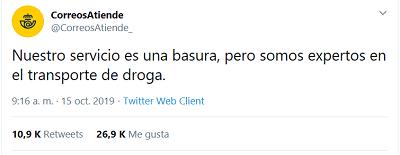 """Imagen - La cuenta """"CorreosAtiende"""" ha sido hackeada"""