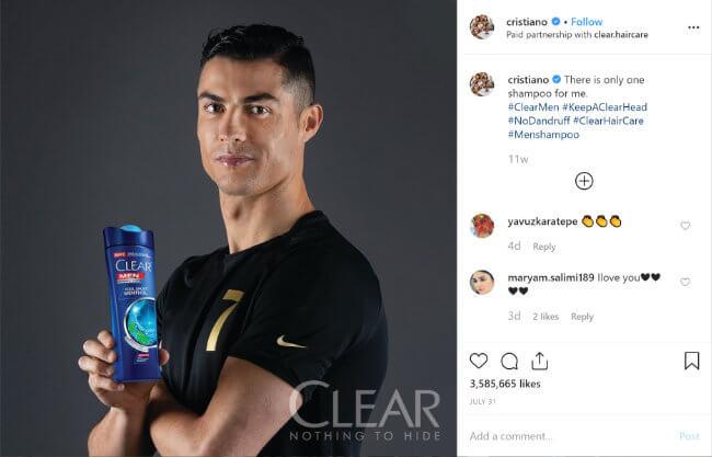 Imagen - Cristiano Ronaldo gana más como influencer en Instagram que como futbolista